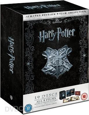 harry potter dvd med dansk tale