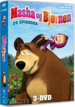 masha och björnen dvd