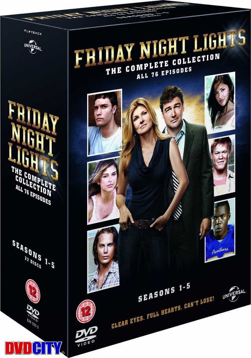 Friday Night Lights   Series 1 5 (Box Set) (22 Disk)