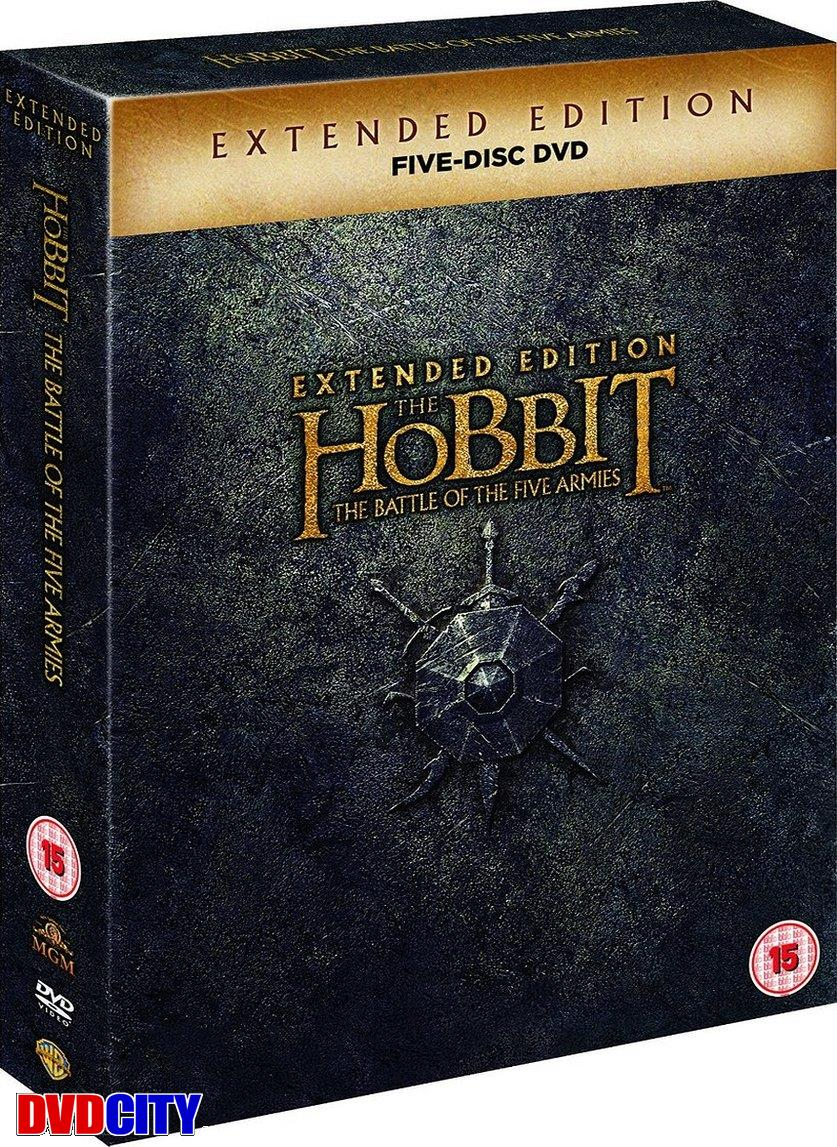 hobbitten femhæreslaget extended edition