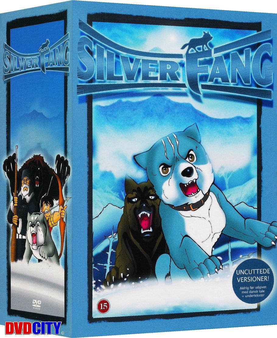 hundehvalpen silver den komplette serie dvd