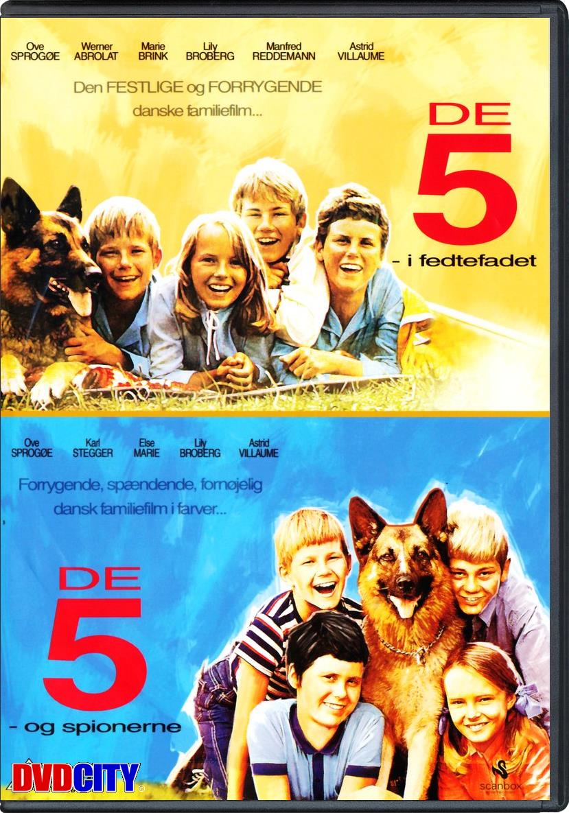 de fem film dansk