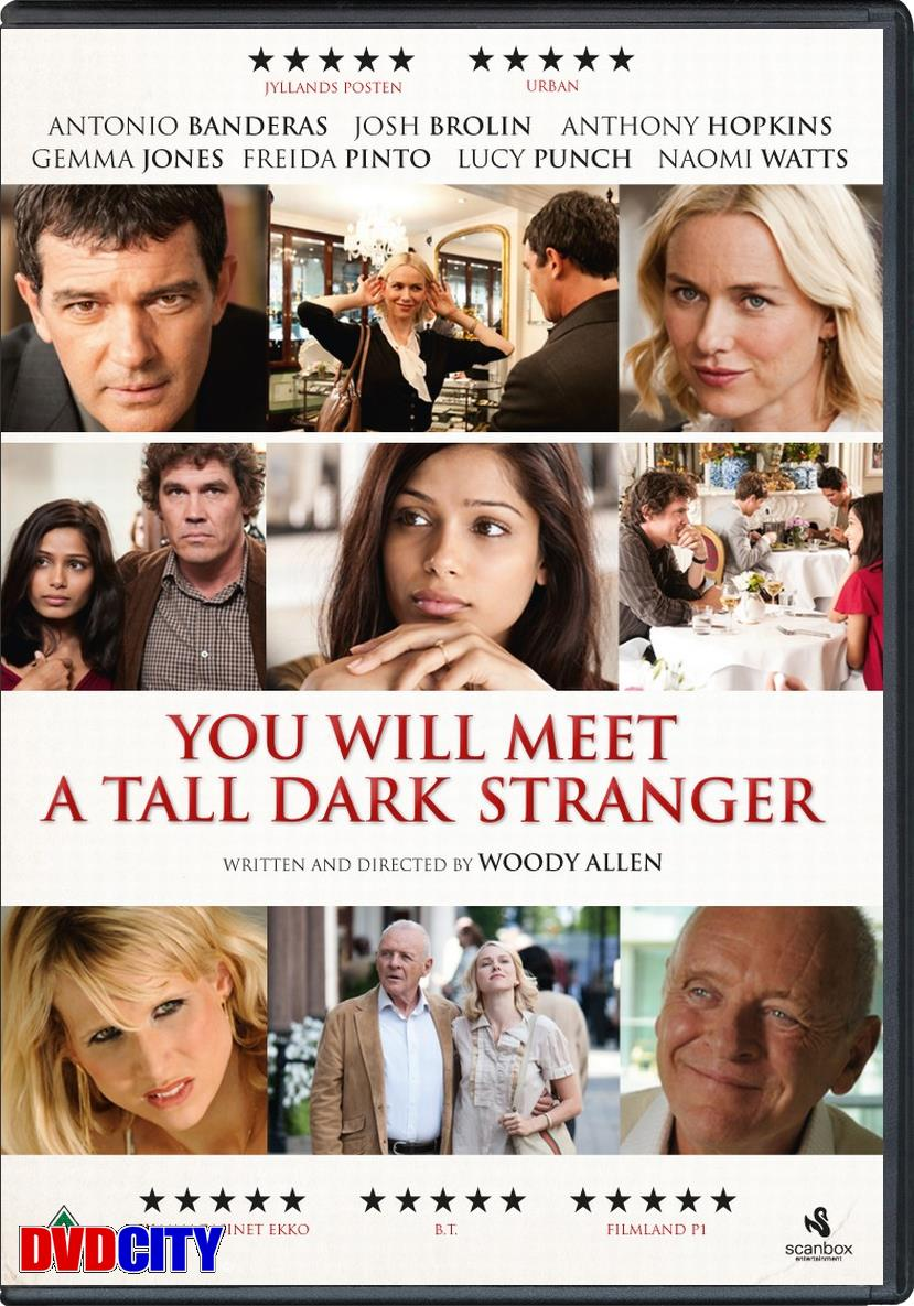Click to enlarge you will meet a tall dark stranger (2010) wallpaper image 9