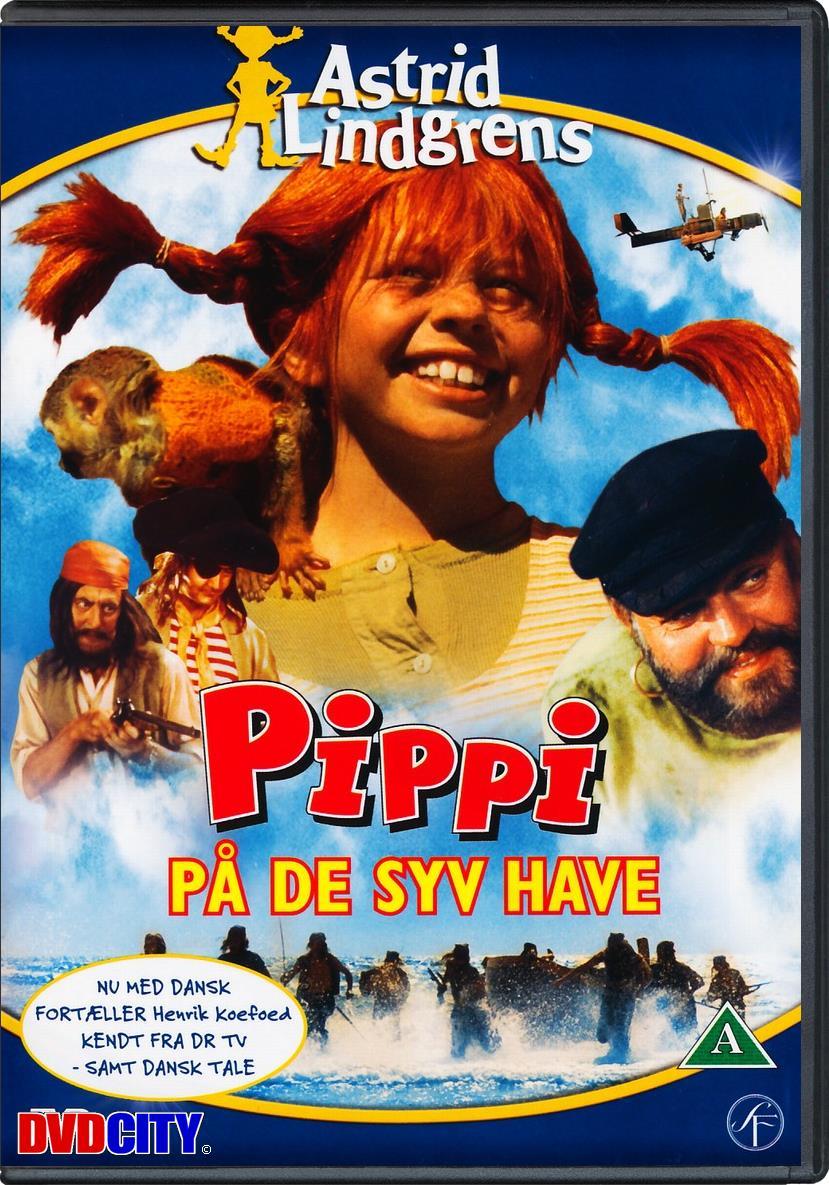 Foretrukne Pippi Langstrømpe På De Syv Have (1970) - dvdcity.dk TK89