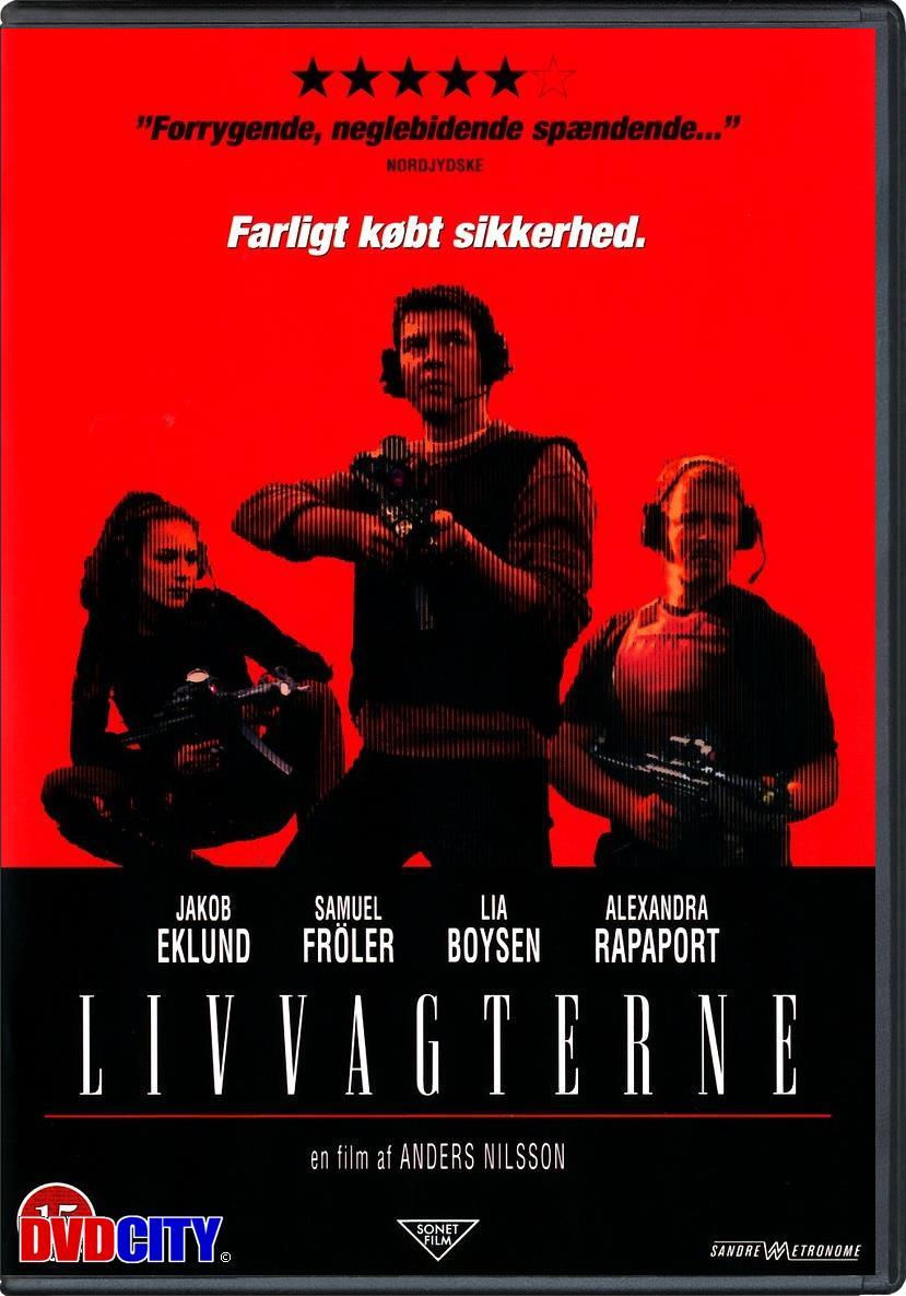 livvakterna dansk serie dvd
