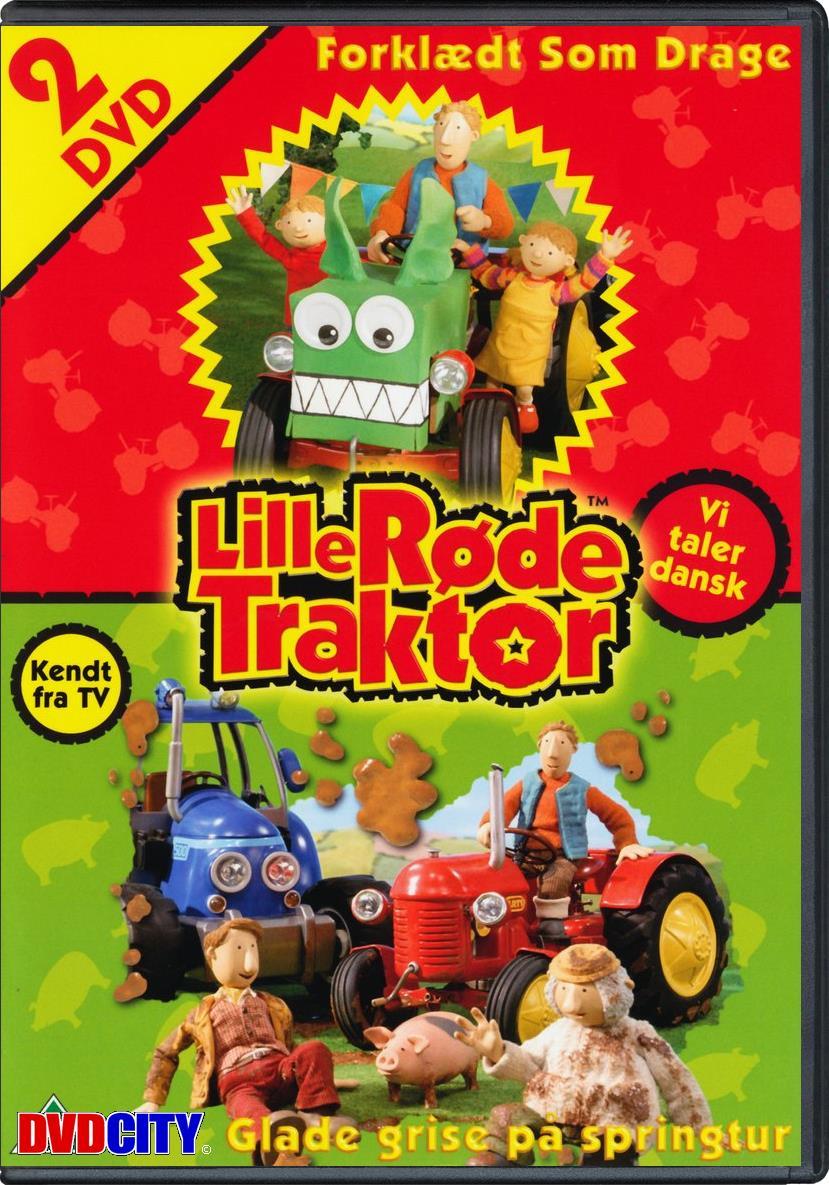 Lille Røde Traktor - Forklædt Som Drage+glade Gris - Twinpack - dvdcity.dk