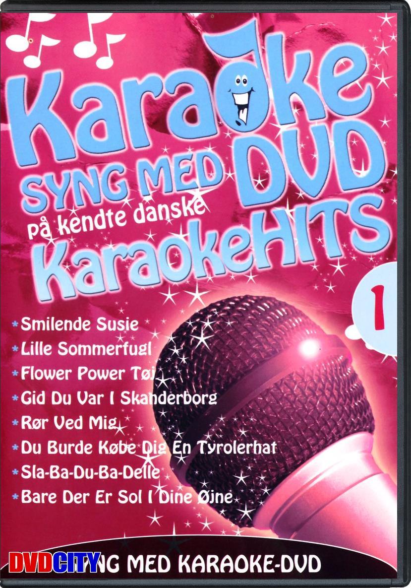 Syng Med På Karaoke: Kendte Danske Karaoke Hits 1 - dvdcity.dk