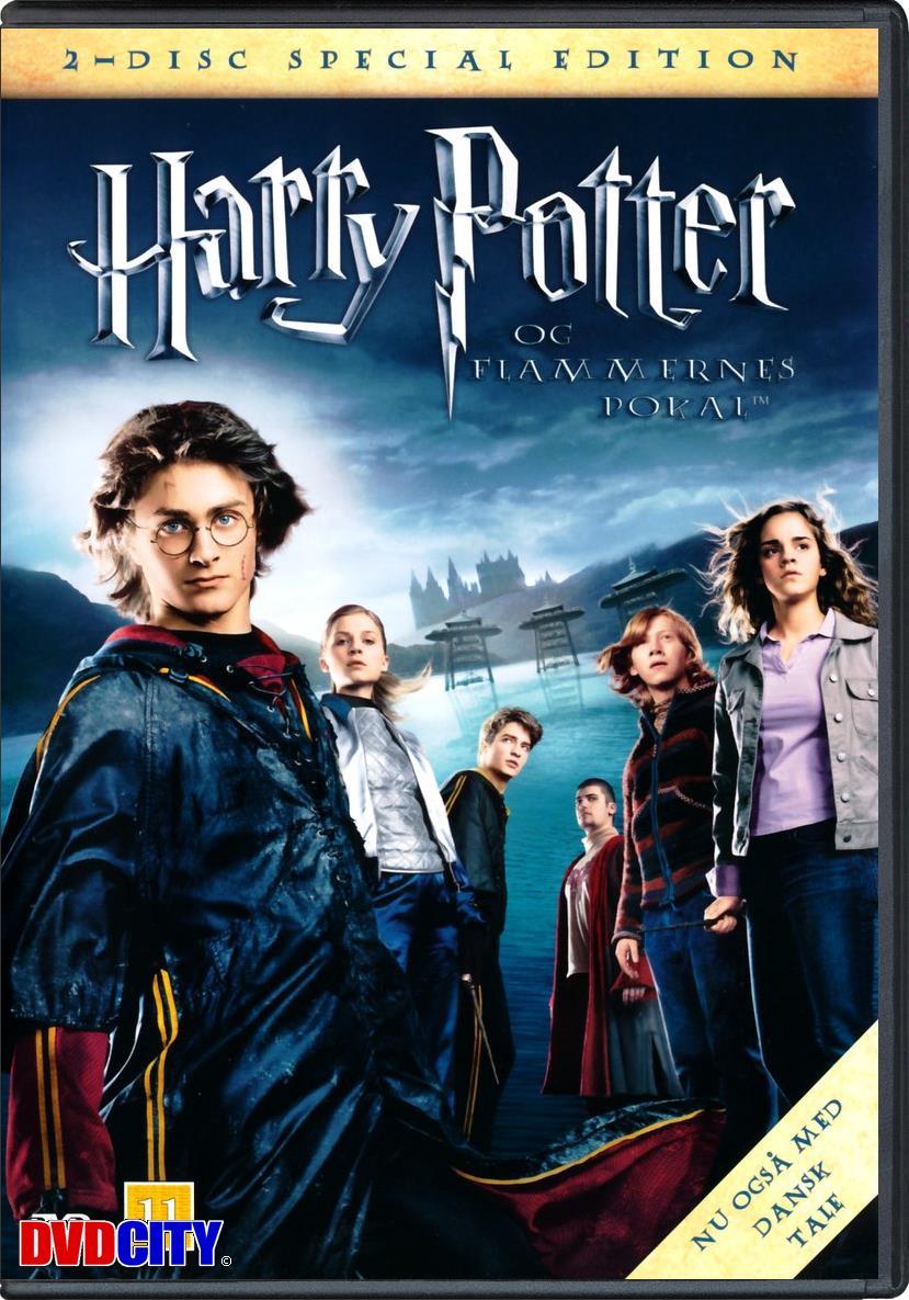 Harry potter film dansk tale