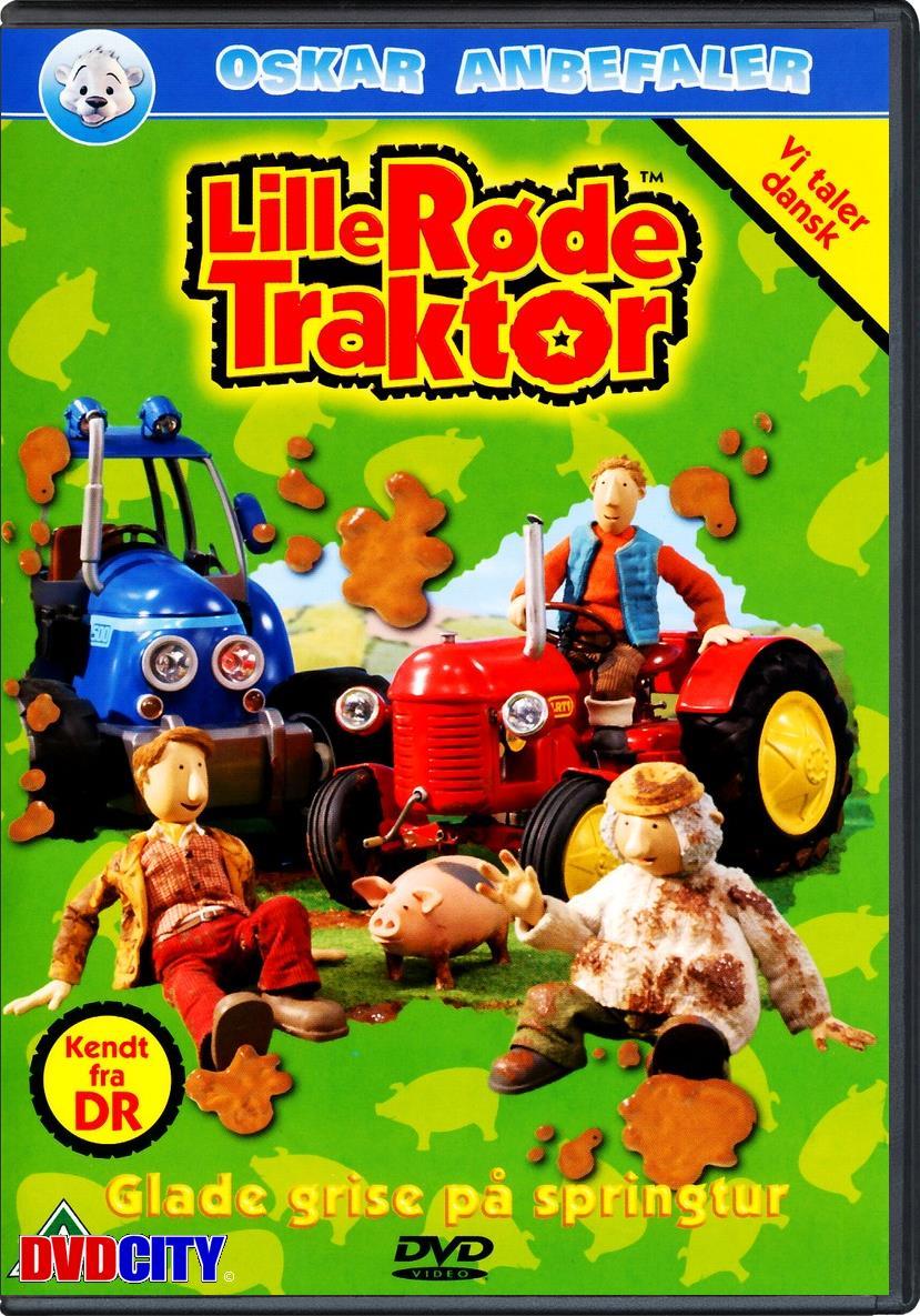 lille røde traktor