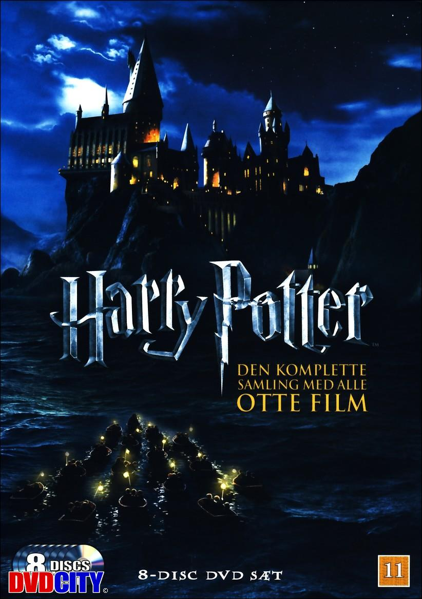 harry potter alle dvds