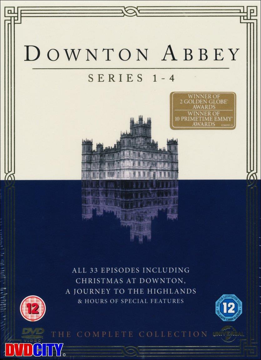 Downton Abbey - Seasons 1-4 (2013) - dvdcity.dk
