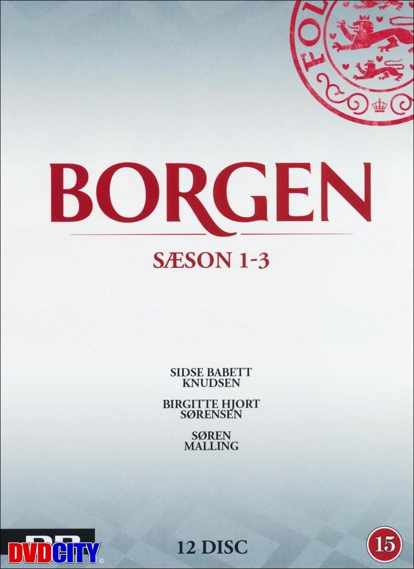 borgen dvd boks