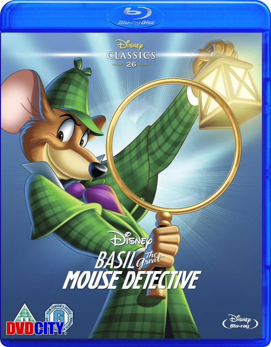 mesterdetektiven basil mus blu ray