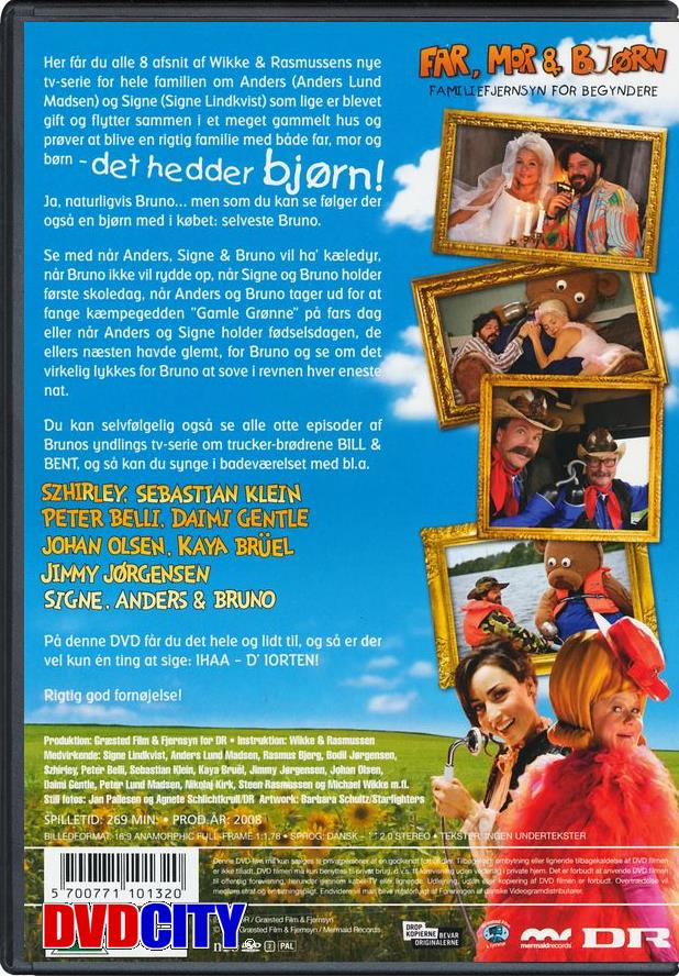 far mor og bjørn dvd