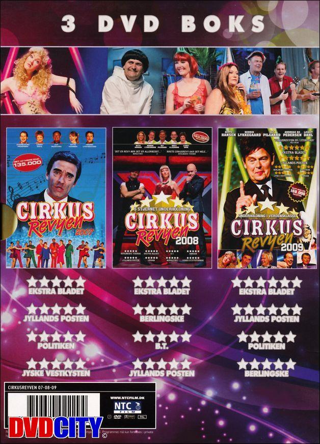 cirkusrevyen 2014 dvd