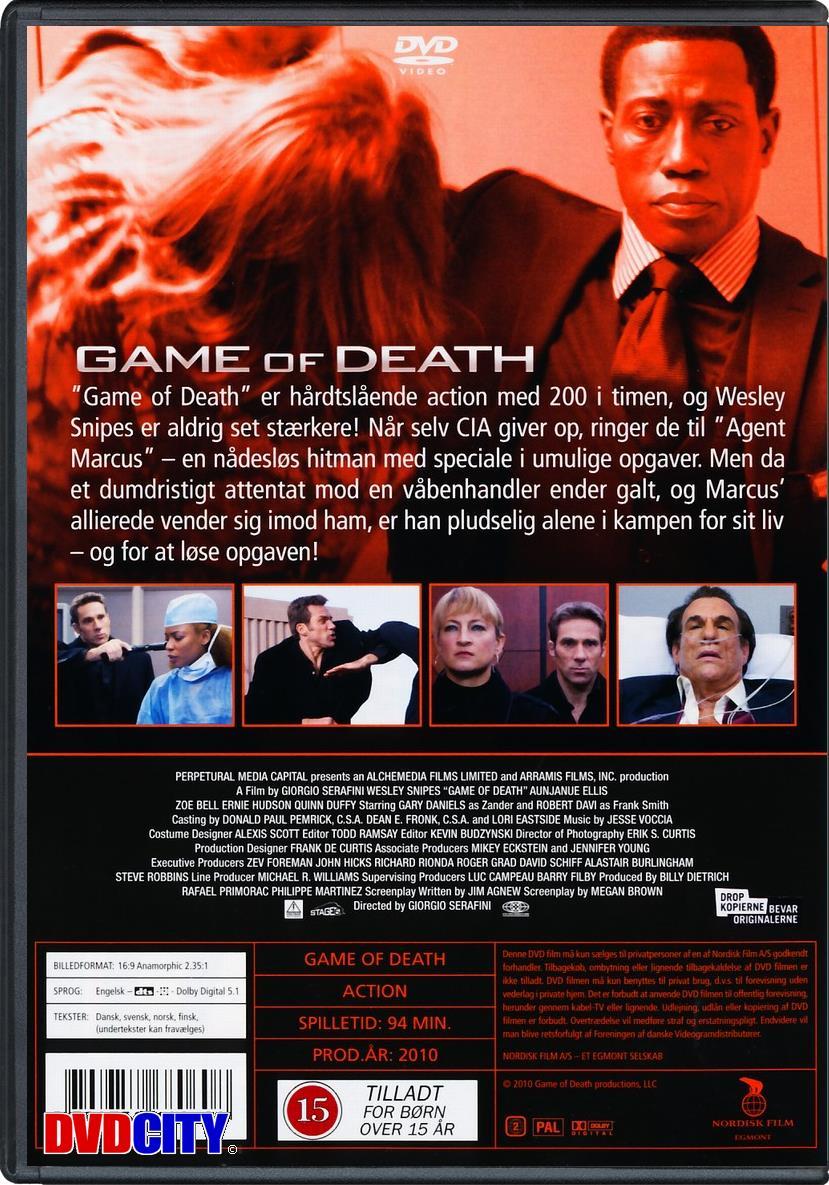 Game Of Death (2010) - dvdcity.dk