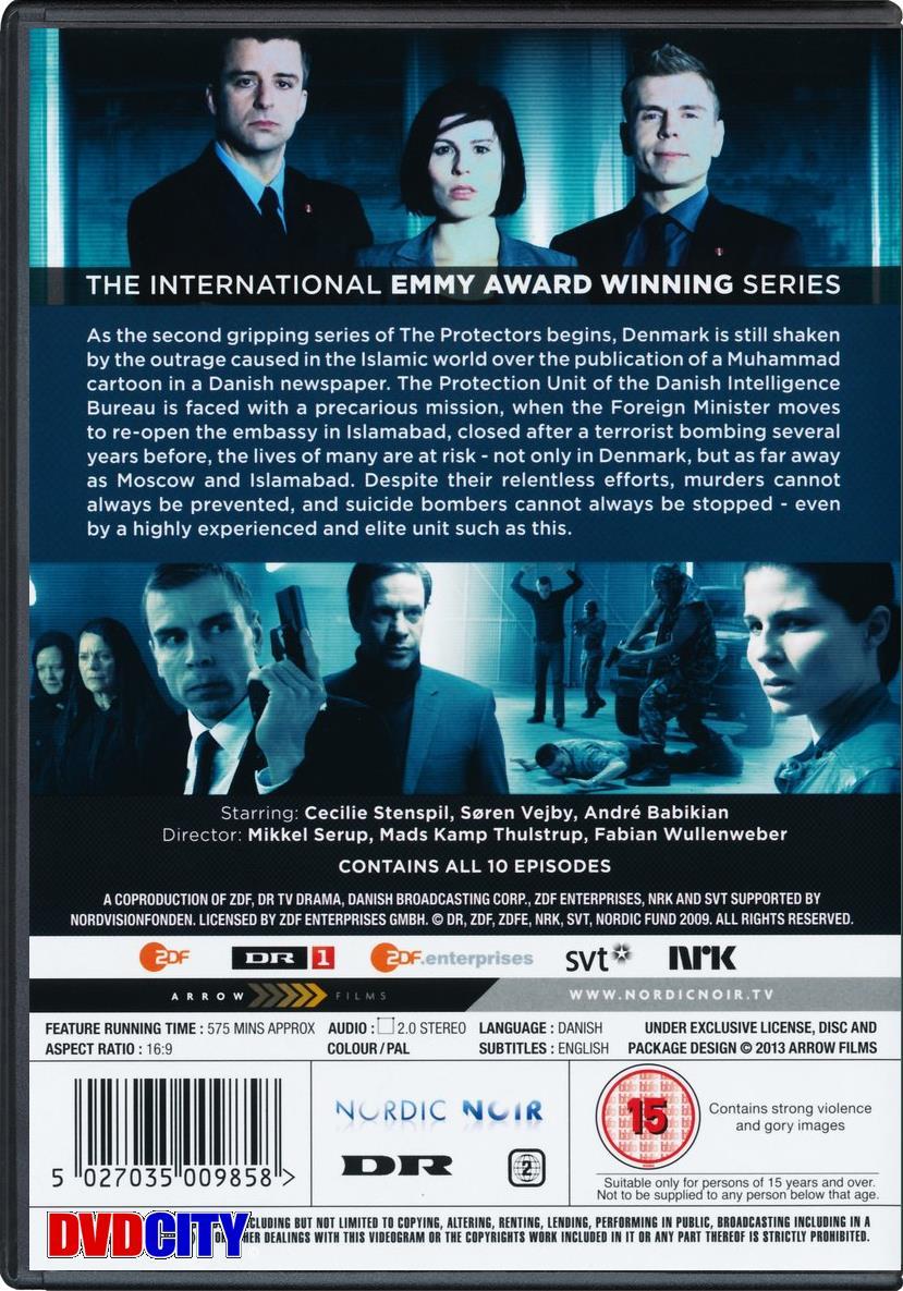 livvagterne sæson 2 dvd