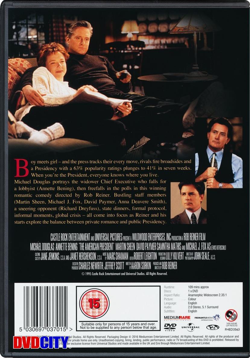 præsident på frierfødder dvd