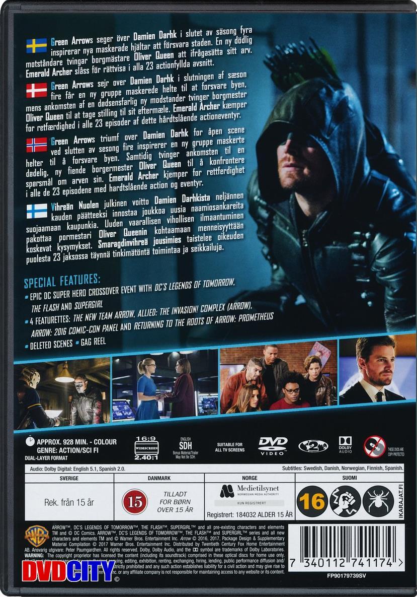 Arrow - Season 5 (2016) - dvdcity dk