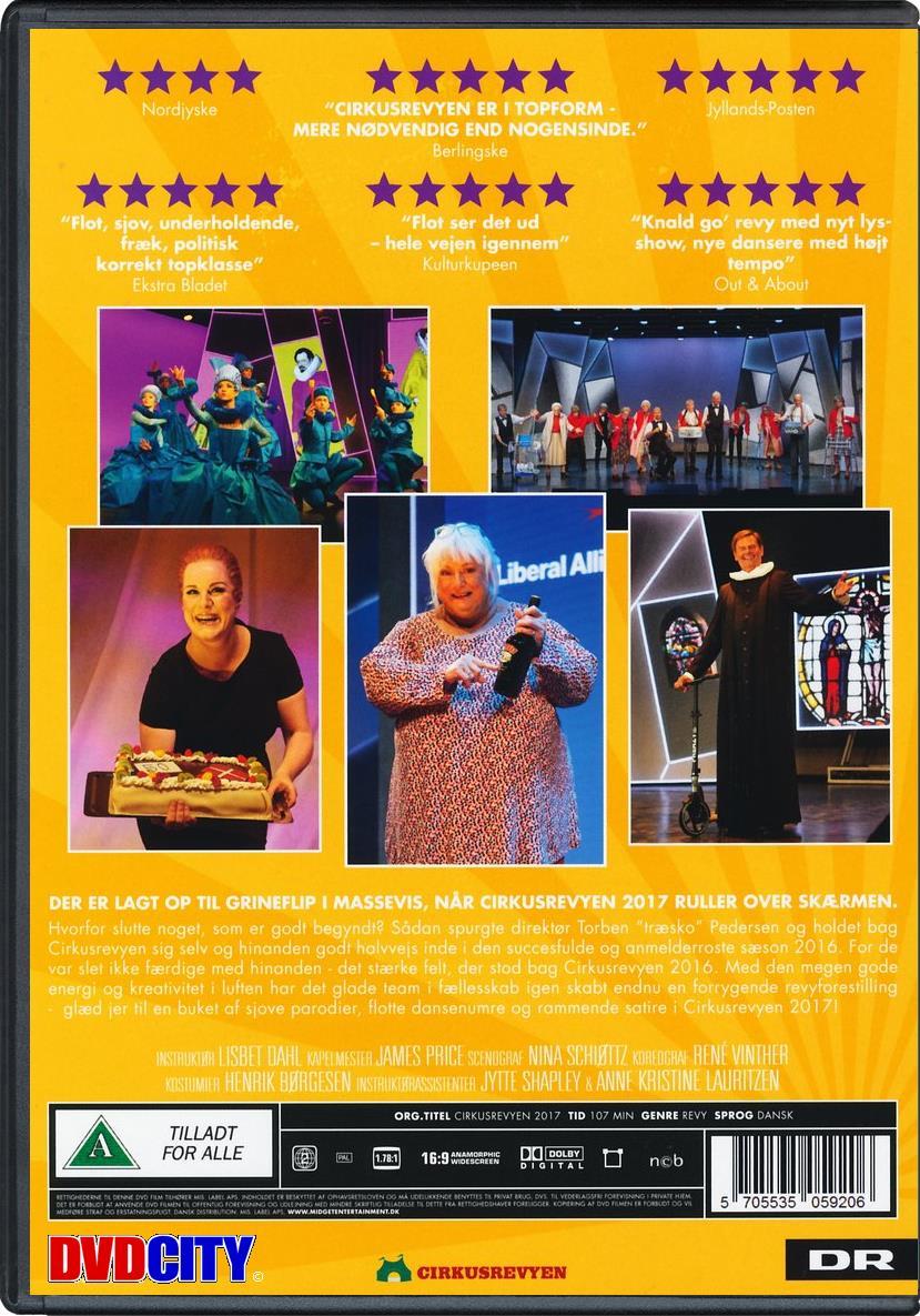 youtube cirkusrevyen 2012