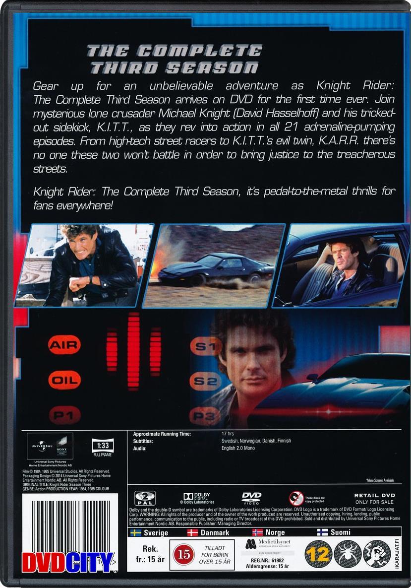 Knight Rider - Season 3 (1984) - dvdcity dk