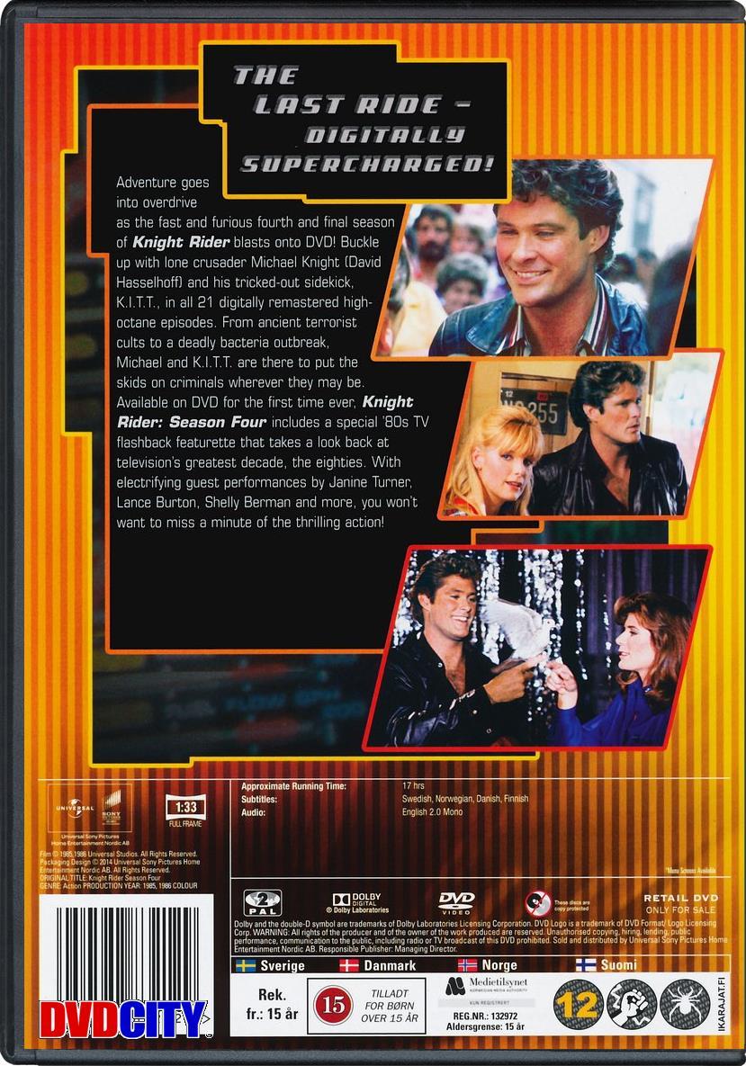 Knight Rider - Season 4 (1985) - dvdcity dk