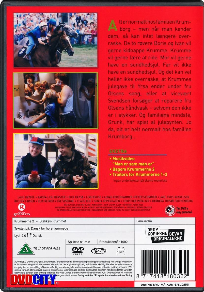 Krummerne 2: Stakkels Krumme (1992) - dvdcity.dk
