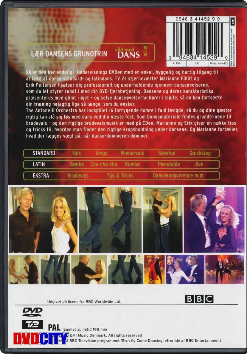 vild med dans på dvd