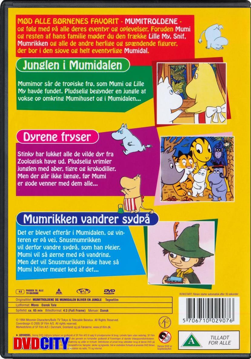 Mumitroldene #7: Mumidalen Bliver En Jungle - dvdcity.dk
