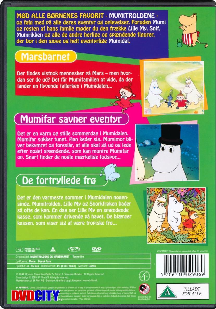 Mumitroldene #6: Marsbarnet - dvdcity.dk