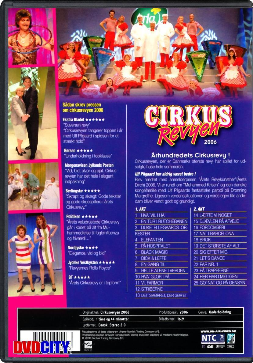 cirkusrevyen 2015 aalborg