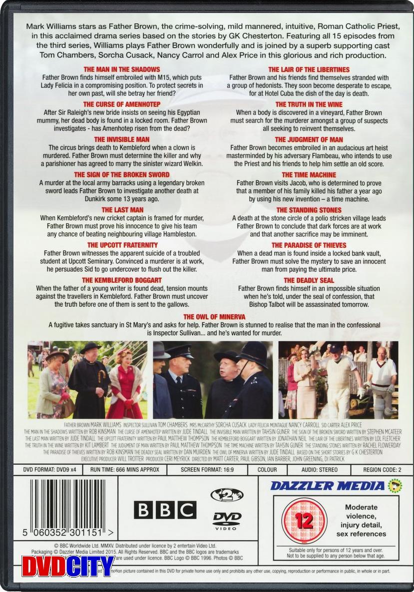 Father Brown - Season 3 (2015) - dvdcity dk