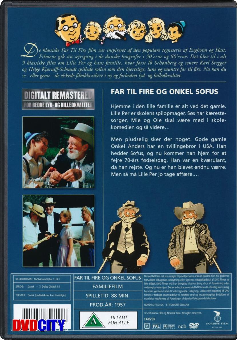 Far Til Fire (5) Og Onkel Sofus (1957) - dvdcity.dk