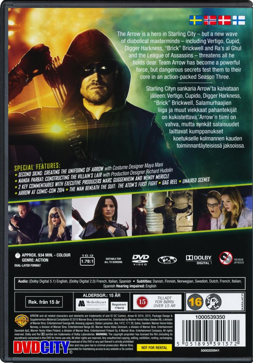 Arrow - Season 3 (2014) - dvdcity dk