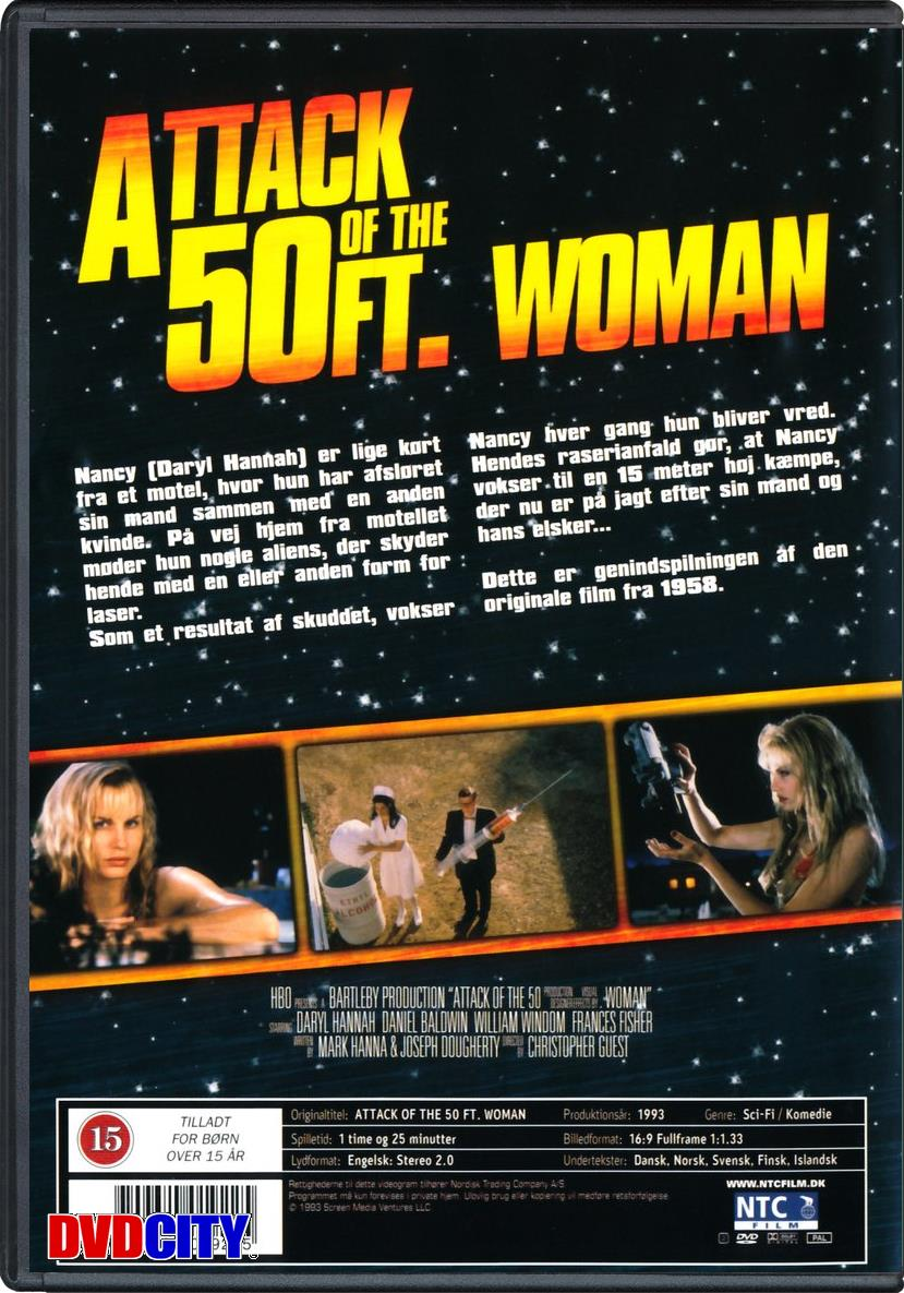 attack of the 50 foot woman This is a so bad it's good movie so much to enjoy yvette (one-take vicky) vickers' first film, the other being attack of the giant leeches also here at the.