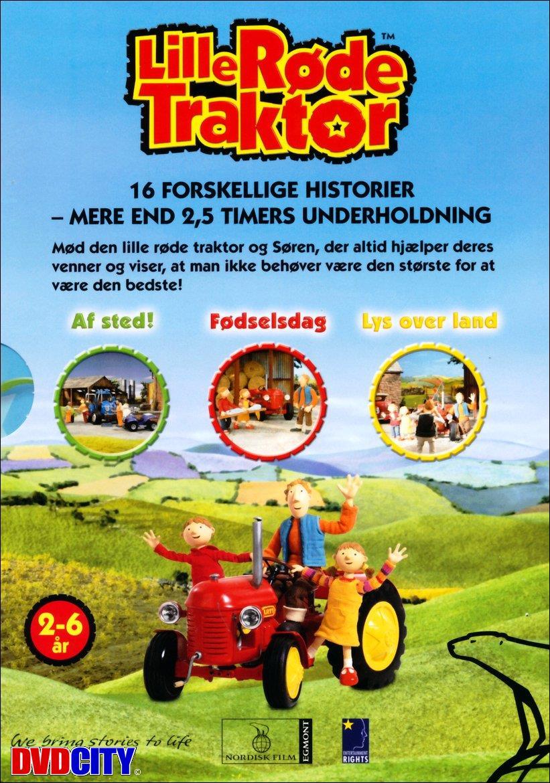 den lille røde traktor