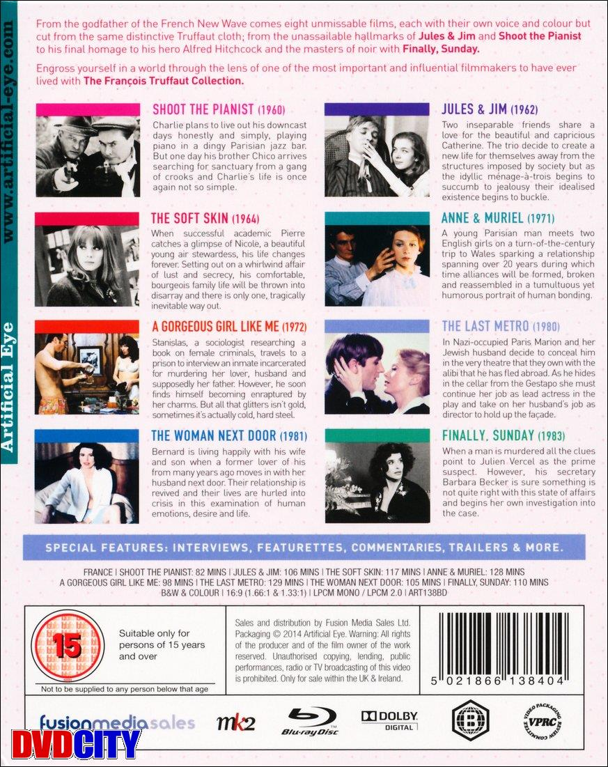 064308839ae0 François Truffaut Collection, The - dvdcity.dk
