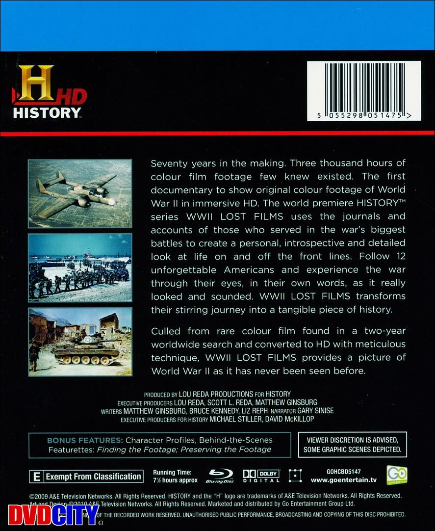World War II Lost Films - dvdcity dk