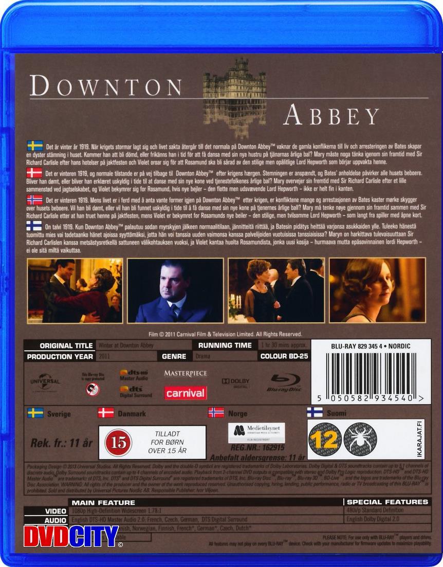 118c8a8e2c98 Winter At Downton Abbey (2010) - dvdcity.dk